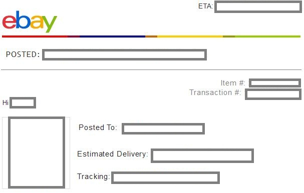 how to add tracking number to ebay