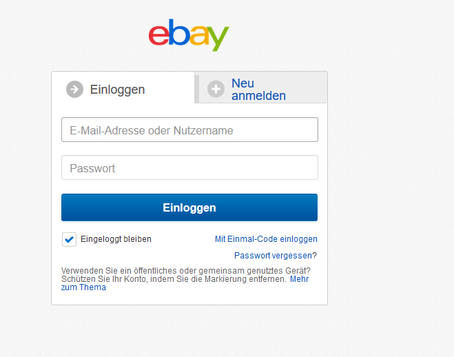 Non English Login Message The Ebay Community