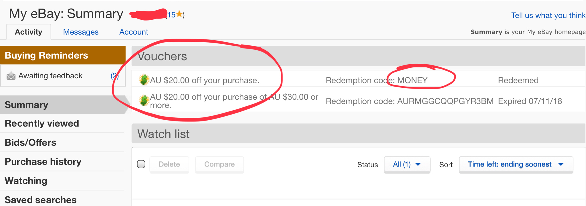 Solved 20 Off Code Not Working The Ebay Community