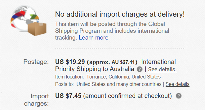 Import Charges